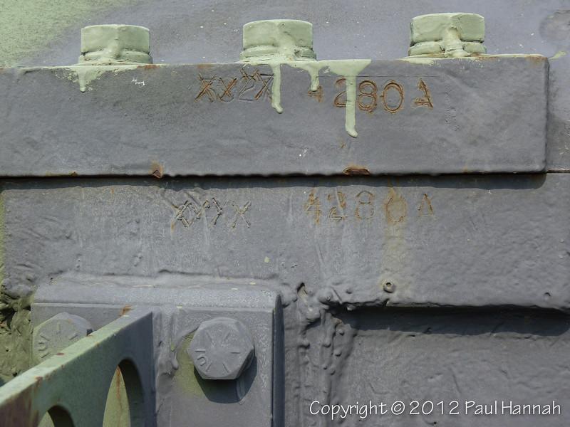 M60A3 SN 4280A, RN 09A94268 - 3 - P1100593