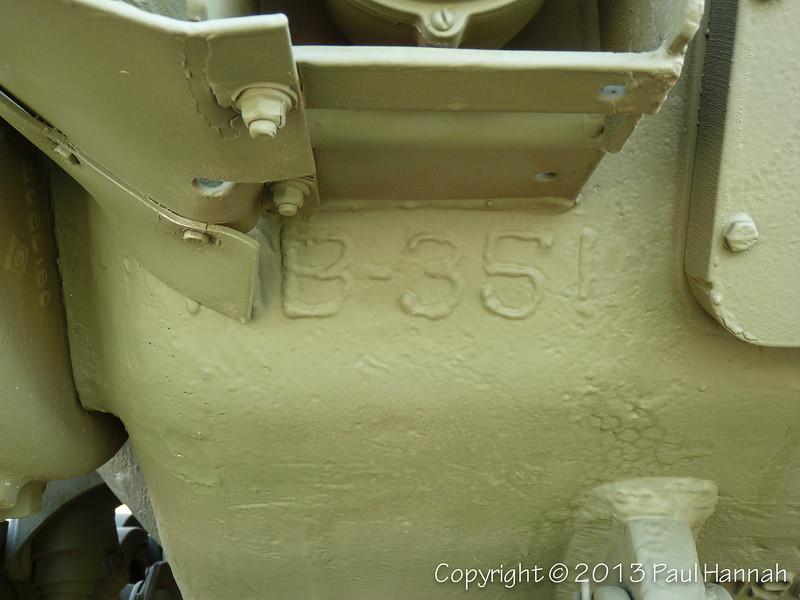 M60A3 Hull Weld - P1130801