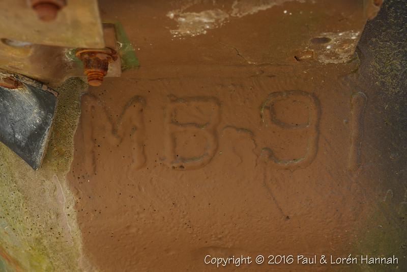 M60A3 SN 4196A, RN 09A22870