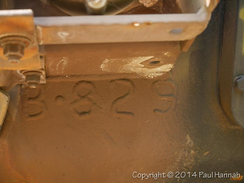 M60A3 SN 4389A, RN 9B8985 Hull Weld - P1150518