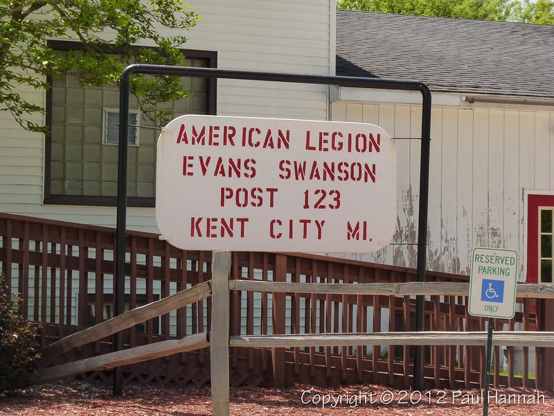 American Legion Post 123 - Kent City, MI - 1 - P1090230