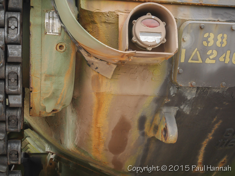 M60A3 SN 4387A, RN 09A10671 Hull Weld