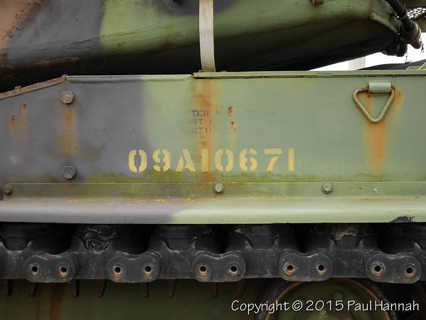 M60A3 SN 4387A, RN 09A10671