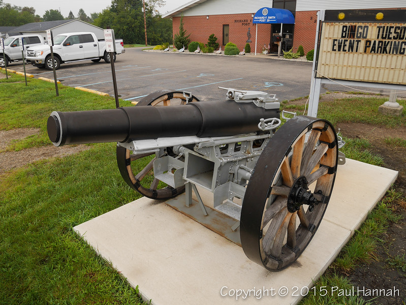 Japanese Model 4 (1915) 150mm Howitzer
