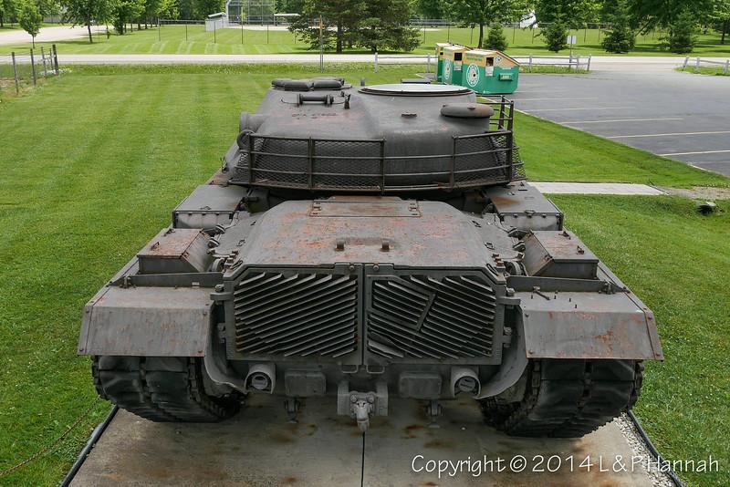 M48 w-XM66D Turret - 17 - P1040013