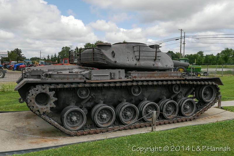 M48 w-XM66D Turret - 20 - P1040020