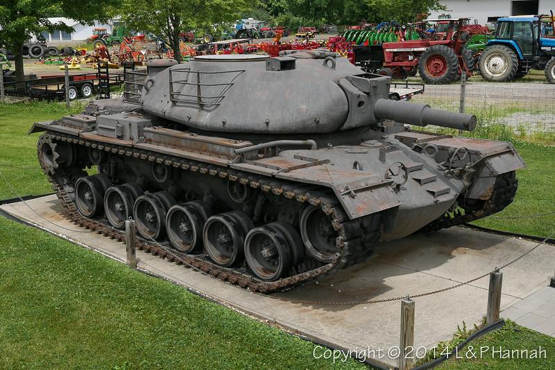 M48 w-XM66D Turret - 2 - P1030989