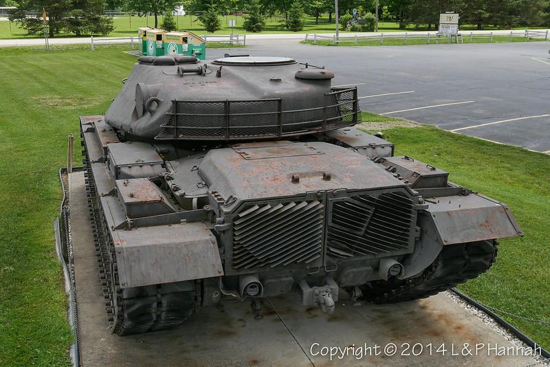 M48 w-XM66D Turret - 16 - P1040012