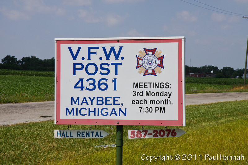 VFW Post 4361 - Maybee, MI -1