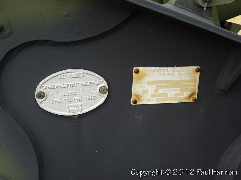 M114A2 155mm Howitzer #4753 - 7 - P1060106
