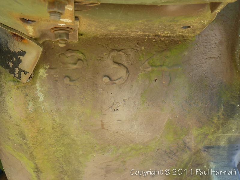 M60A3 SN 4342A, RN 9B7339 Hull Weld - 1 - P1040614