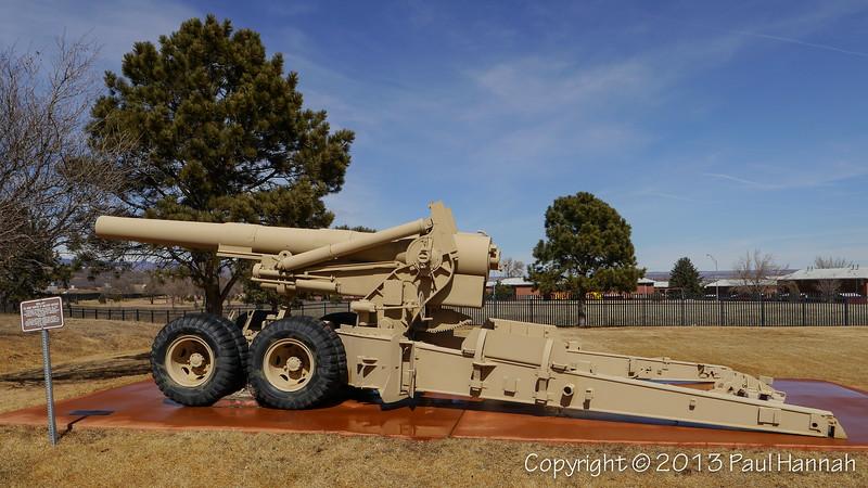 """1945 M2 8"""" Howitzer SN 1720"""