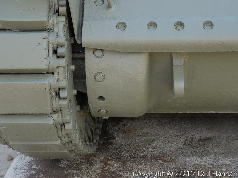 M5 Stuart SN 634 - Could not see SN on transmission cover