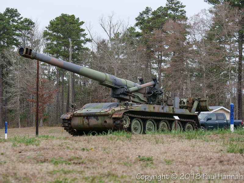 M110A2 - located near Camp Butner HQ on Roberts Chapel Rd