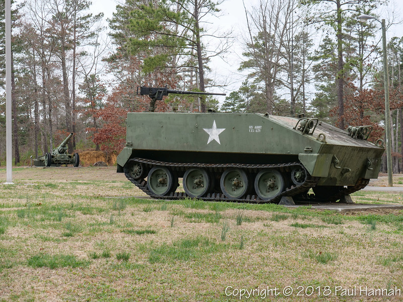 M1918 155mm GPF & M114  - located near Camp Butner HQ on Roberts Chapel Rd