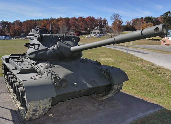 Mt Airy, NC Veterans Memorial Park - M47