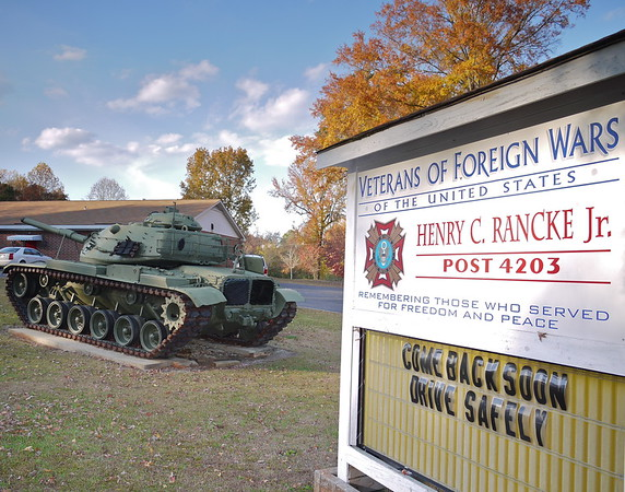 Rockingham, NC VFW Post # 4203 - M60A3