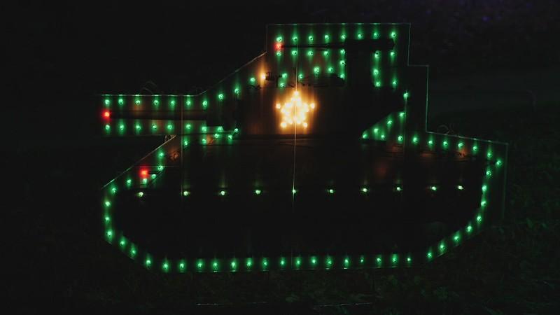 Sherman Christmas Lights Video