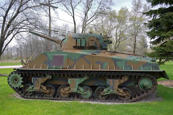 Ohio ARNG Armory - Walbridge, OH - M4A3E9