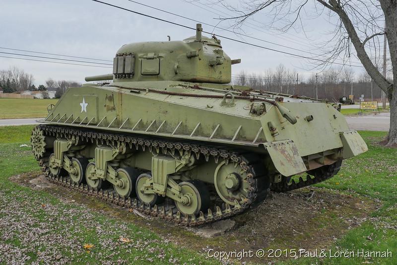 M4A3E9 Sherman SN 12007