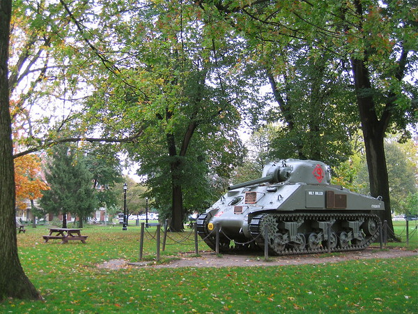 """Victoria Park - London, ON - M4A2(75) """"Holy Roller"""""""