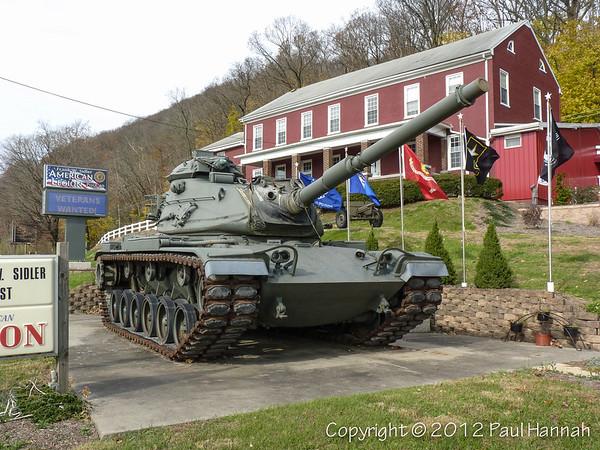 AL Post 40 - Danville, PA - M60A3, Japanese Type 38 , US 37mm