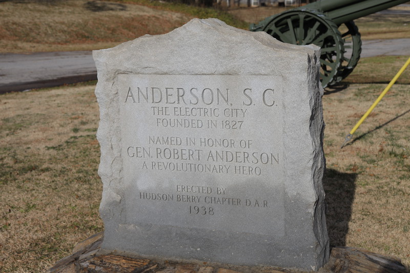 Anderson, SC monument