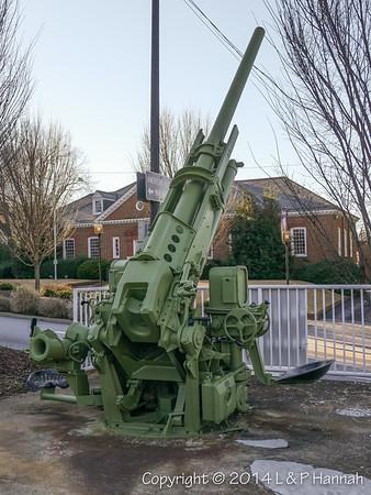 M-2 90mm AAA Gun