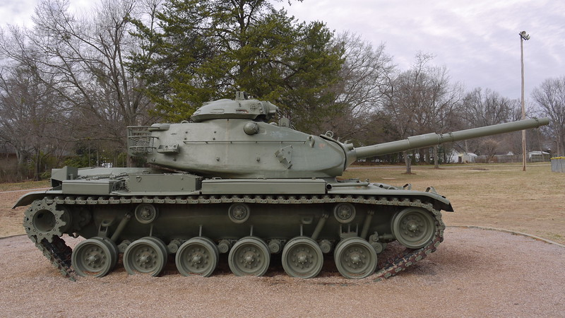 Gower Park - Greenville, SC - M60A3