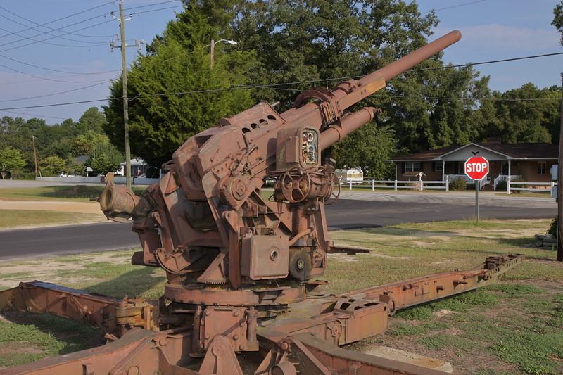 US 90mm AA gun 2