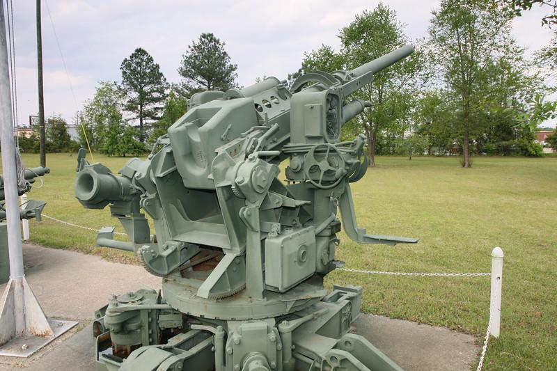 90mm AAA gun detail