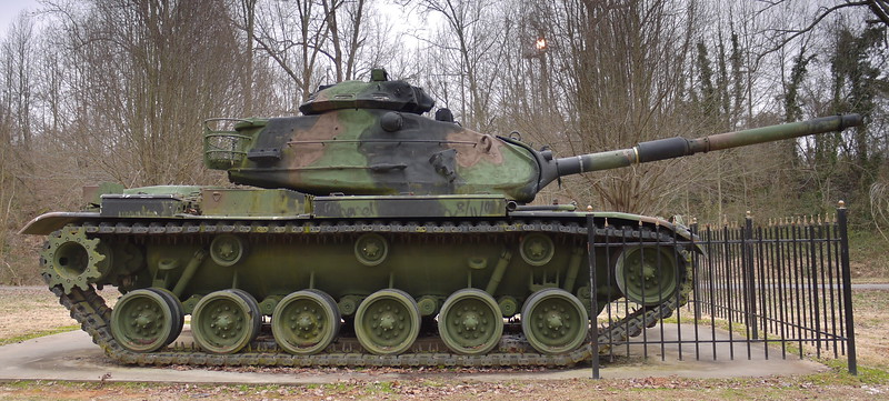 Veterans Park - Williamston, SC - M60A3