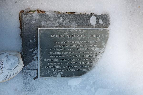 M106A1 plaque