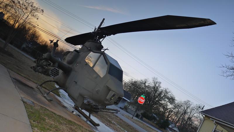 AH-1 Cobra - Batman angle