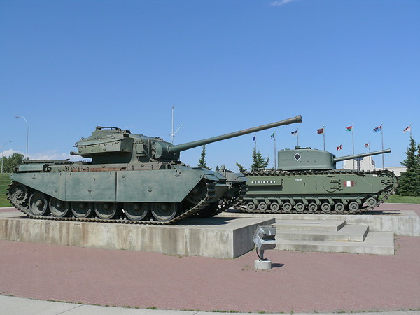 Centurion & Churchill Mk VIII Crocodile