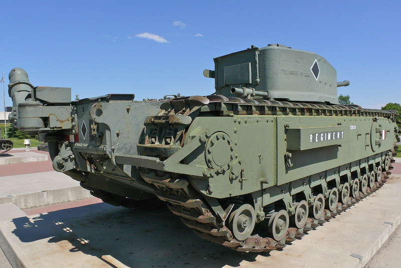 Churchill Mk VIII Crocodile 4
