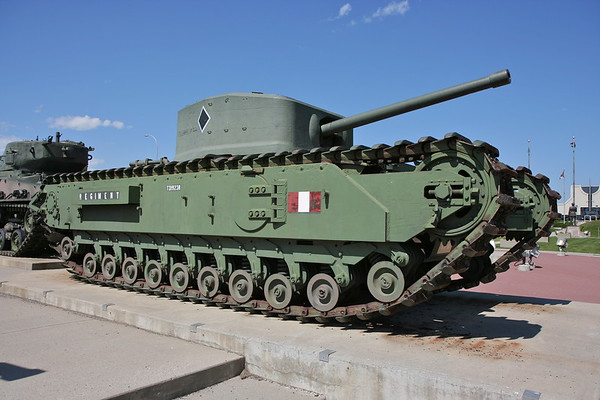 Churchill Mk VIII Crocodile 1