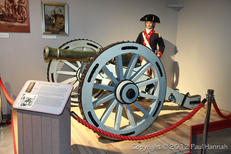 1761 French Light 4-pdr  -1