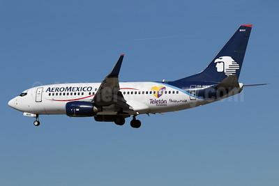 AeroMexico Boeing 737-752 WL XA-MAH (msn 35122) (Teleton Fundacion) LAX (James Helbock). Image: 926033.