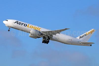 AeroLogic Boeing 777-FZN D-AALF (msn 36201) LAX (Michael B. Ing). Image: 929757.