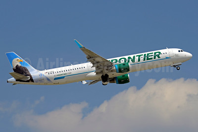 Frontier Airlines (2nd) Airbus A321-211 WL N709FR (msn 7097) CLT (Jay Selman). Image: 403091.