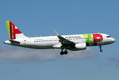 TAP Airbus A320 now with Sharklets
