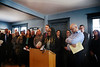 HOLLY PELCZYNSKI - BENNINGTON BANNER Kiah Morris former member of the Vermont House of Representatives speaks at a press conference hosted by the Attorney Generals office on Monday afternoon at the Beth El Congregation in Bennington.
