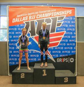 AGF Dallas BJJ Championships PODIUM PICS