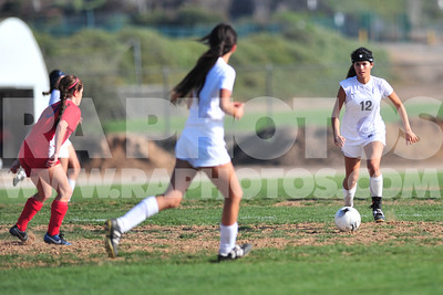 2/19/15 - GIRLS CIF SOCCER. ARROYO GRANDE VS SAN MARCOS. FINAL AG 4- SAN MARCOS 0