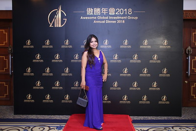 Awesome Global Investment Group - Annual Dinner 2018  @ The Great Duke  Phnom Penh Cambodia - WefieBox Photobooth Cambodia