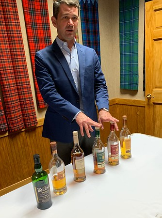 Glenmorangie was sharing some of the good stuff at the Sponsor's Reception.