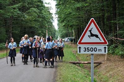 Une journée ordinaire à l'Eurojam, le 4 août 2014