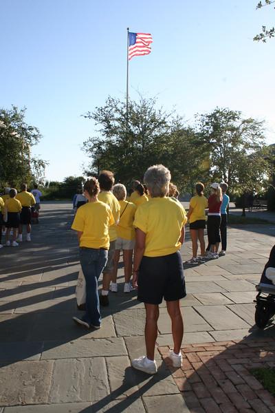 Start! American Heart Walk Charleston SC Joan Perry