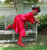 """Marvin Cobbs - Represents Team """"Imaging Scallywags"""". Make Marvin wear the Red Dress by donating in his name <a href=""""http://heartwalk.kintera.org/lowcountrysc/marvin"""">here</a> or to him in person."""